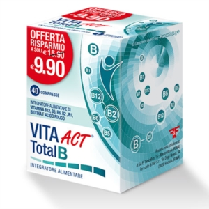 F&f Vita Act Total B 40 Compresse