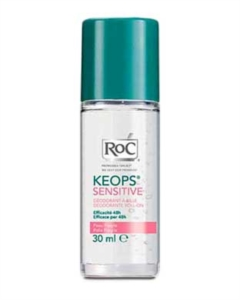 RoC Linea Deodoranti Keops Deodorante Roll-on Sensitive Pelle Fragile 30 ml