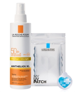 La Roche Posay Linea Anthelios SPF50+ XL Spray Ultra Leggero 200ml + My UV Patch
